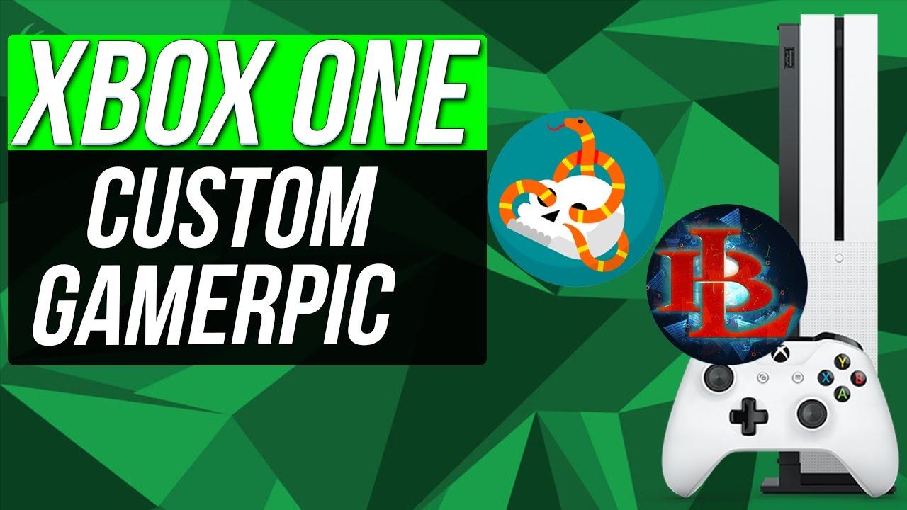 how to get custom gamerpic on xbox one for everyone custom gamer