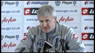 mark hughes on final day man city 3 2 qpr   premier league
