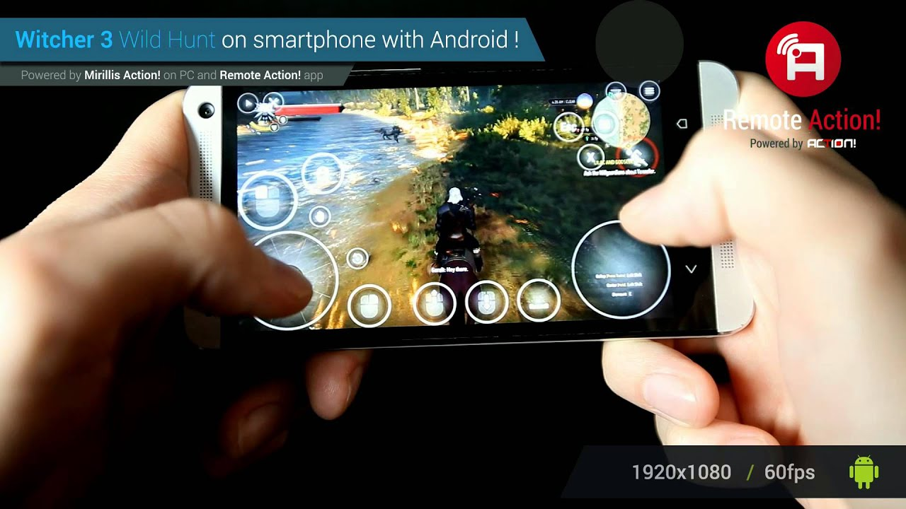 Playing witcher 3 wild hunt on android smartphone with mirillis playing witcher 3 wild hunt on android smartphone with mirillis remote action app youtube voltagebd Gallery
