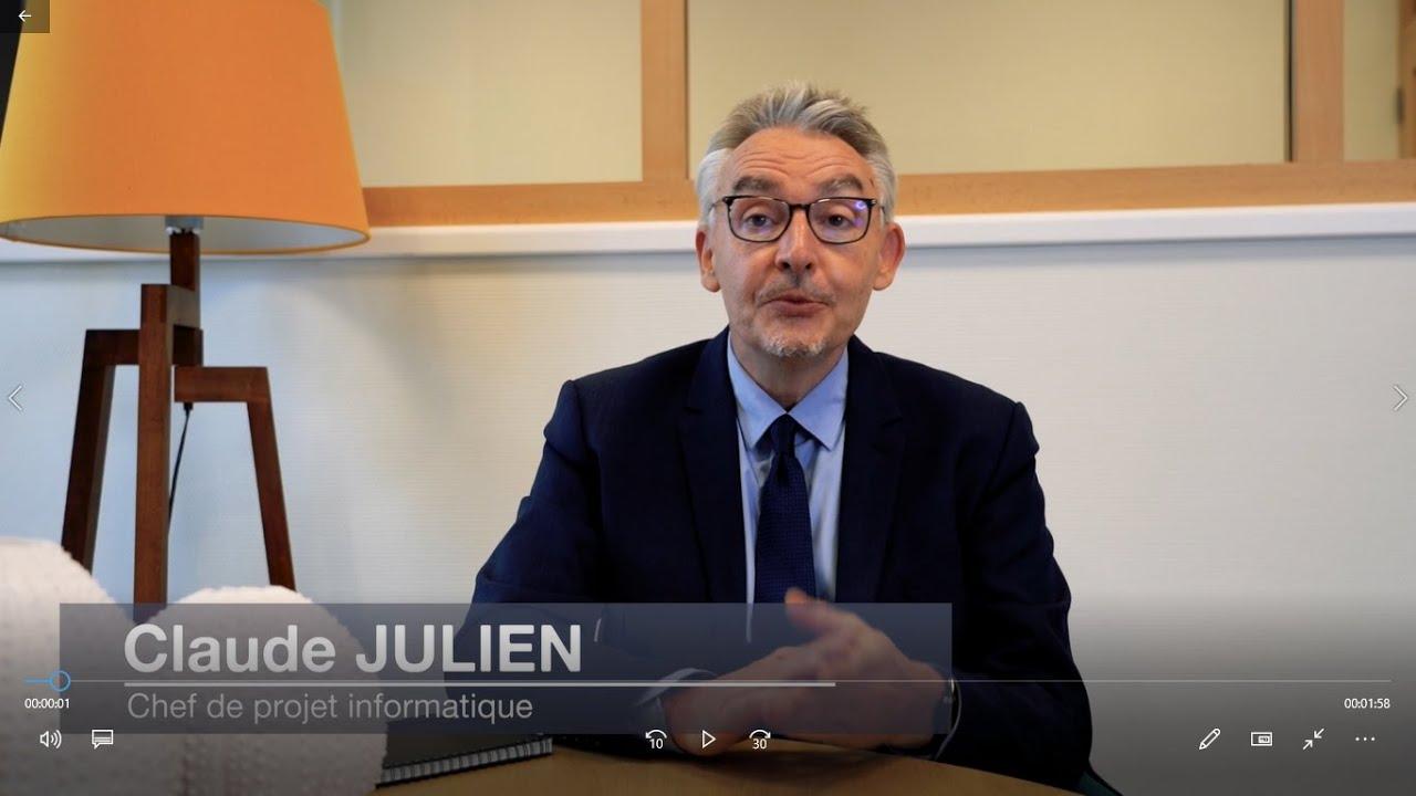 Claude Julien - Responsable informatique | chef de projet expérimenté