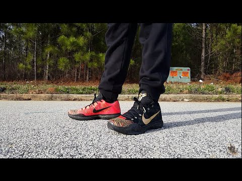 KOBE X ELITE 'XMAS/5RINGS' REVIEW AND ON FEET!!!