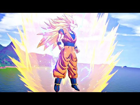 Dragon Ball Z Kakarot - Goku SSJ3 Transformation & Buu Fight (Super Saiyan 3)