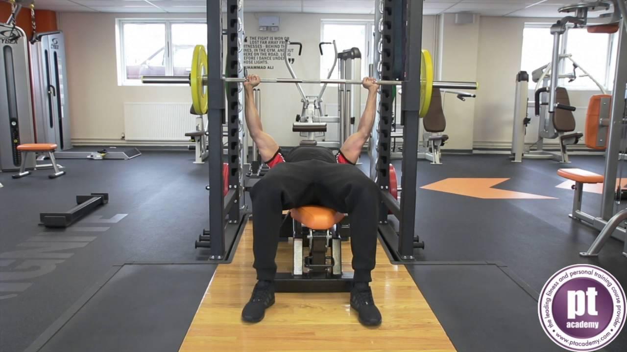 Bench Press   Fitness Instructing: PT Academy