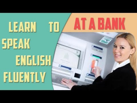 At a bank - Financial English Lesson - English Training Online