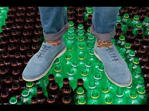 5 ideas with recycled plastic bottles #4