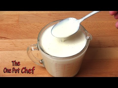Home Made Sweetened Condensed Milk | One Pot Chef