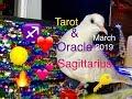 Sagittarius March 2019 🏹♐️- Monthly Tarot & Oracle Forecast🌺 #tarot #sagittarius #Sagittarius