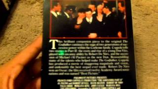 The Godfather Trilogy VHS Review