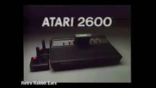 HUGE Atari 2600 Commeŗcials Compilation! Video Game Commercials