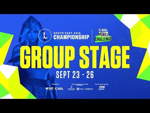 PPGL - (FIL) Wild Rift SEA Championship 2021: Group Stage Da