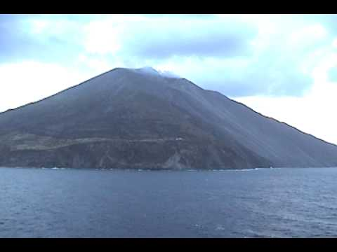 Live Volcano  in the Mediterranean Sea
