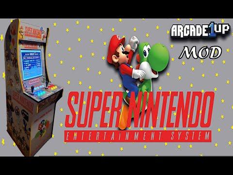 Arcade1up Super Nintendo Mod!!! from MadDadsGaming