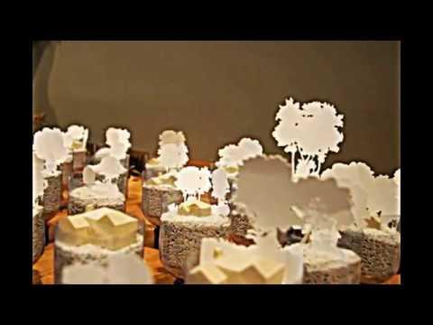 Moderne Kunst Installation von Naturlandschaft inspiriert - YouTube