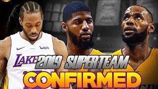 LAKERS TRADING FOR KAWHI TO MAKE 2018 SUPERTEAM WITH LEBRON JAMES? PREDICTED THE FUTURE!
