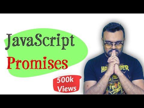 javaScript promises explained tutorial