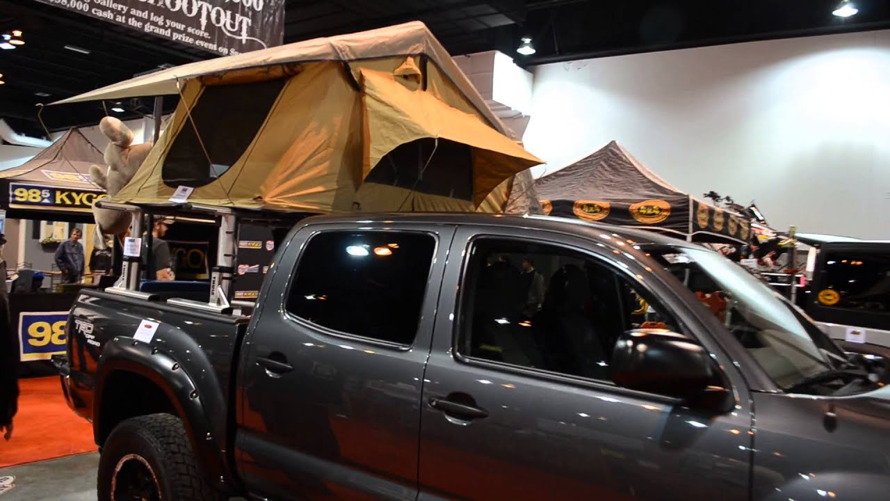 Sampson Iii Roof Top Tent For Pick Up Trucks At Sportman S