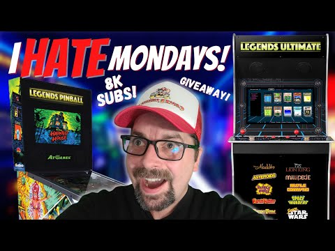 Hanging with Subscribers Talking 8K Subs, Projects, Multicades, AtGames, iiRcade, Arcade1Up & More! from PDubs Arcade Loft
