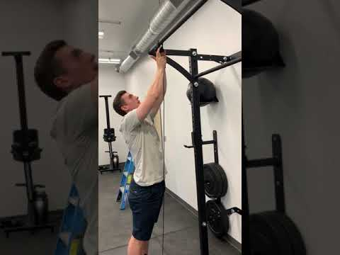 Bicep Curls On The Prx Pulley System, Pulley System For Garage Gym
