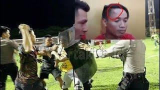 """DETIK DETIK PEMAIN BALI UNITED  """"SUKADANA"""" DIHANTAM OLEH SUPPORTER PSM MAKASSAR - ricuh psm vs Bali"""