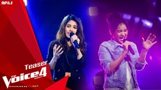 Teaser : The Voice Thailand ซีซั่น 4 สัปดาห์ที่ 12 วันที่ 22 พ.ย. 58