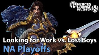 ► Heroes of the Storm: Looking for Work vs. Lost Boys - Division S NA Playoffs
