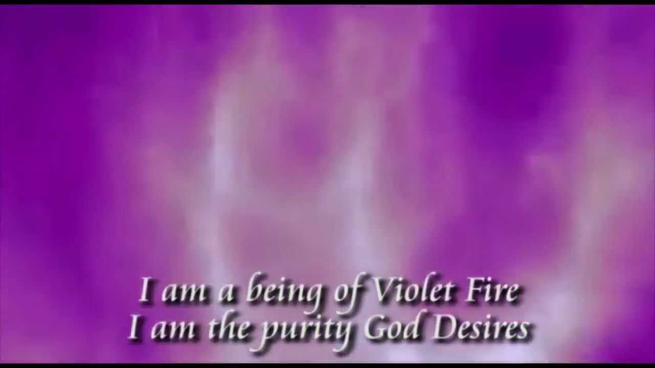 The Violet Flame Chant - YouTube