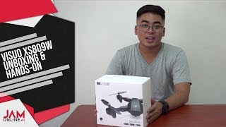 VISUO XS809W Drone Unboxing and Hands-On