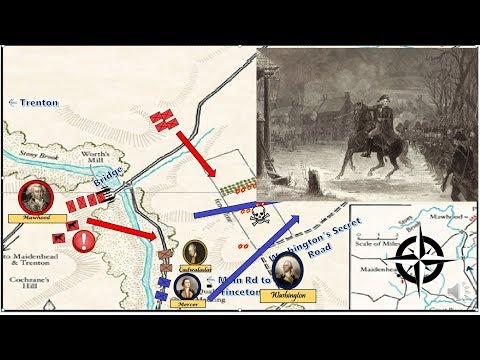 Washington Crosses The Delaware: The Invasion Of Jersey And The Battle Of Princeton