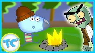 KIDS CARTOON! ToonCornerDoodles! Camping Part 1!