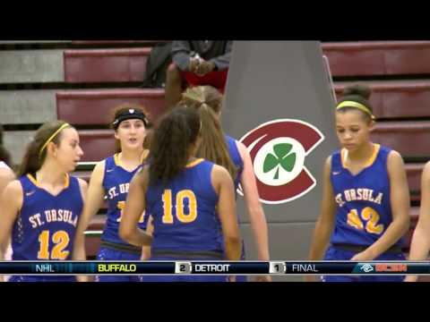 St. Ursula Academy at Central Catholic Girls Basketball