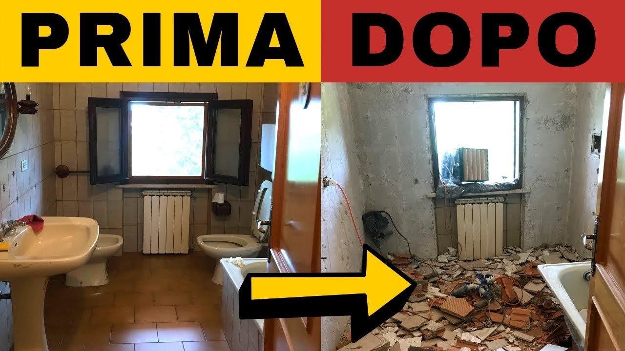 Favoloso Come ristrutturare un bagno: iniziamo i lavori! (ZERO polvere FK76