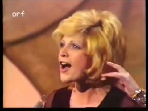 Eurovision 1971 - Monaco - Séverine - Un banc, un arbre, une rue
