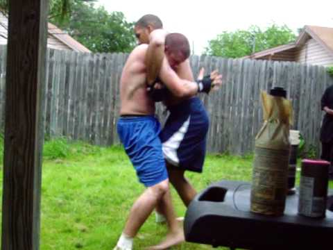 MMA Fight (BACKYARD) - YouTube