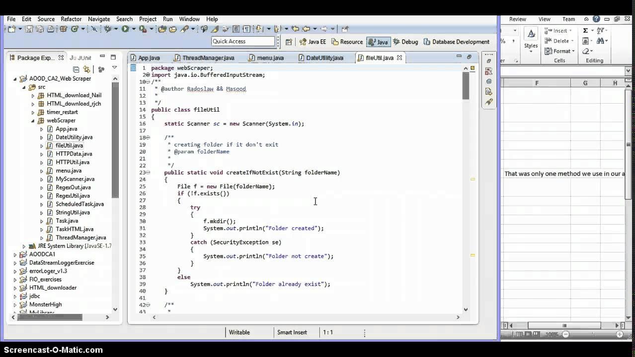 Java - Web Scraper project