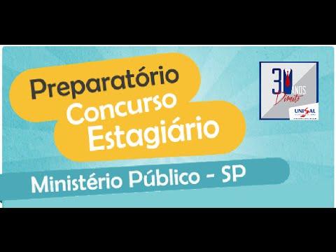 Curso Estagiário MP - Aula de T.G.P. (Part.1)