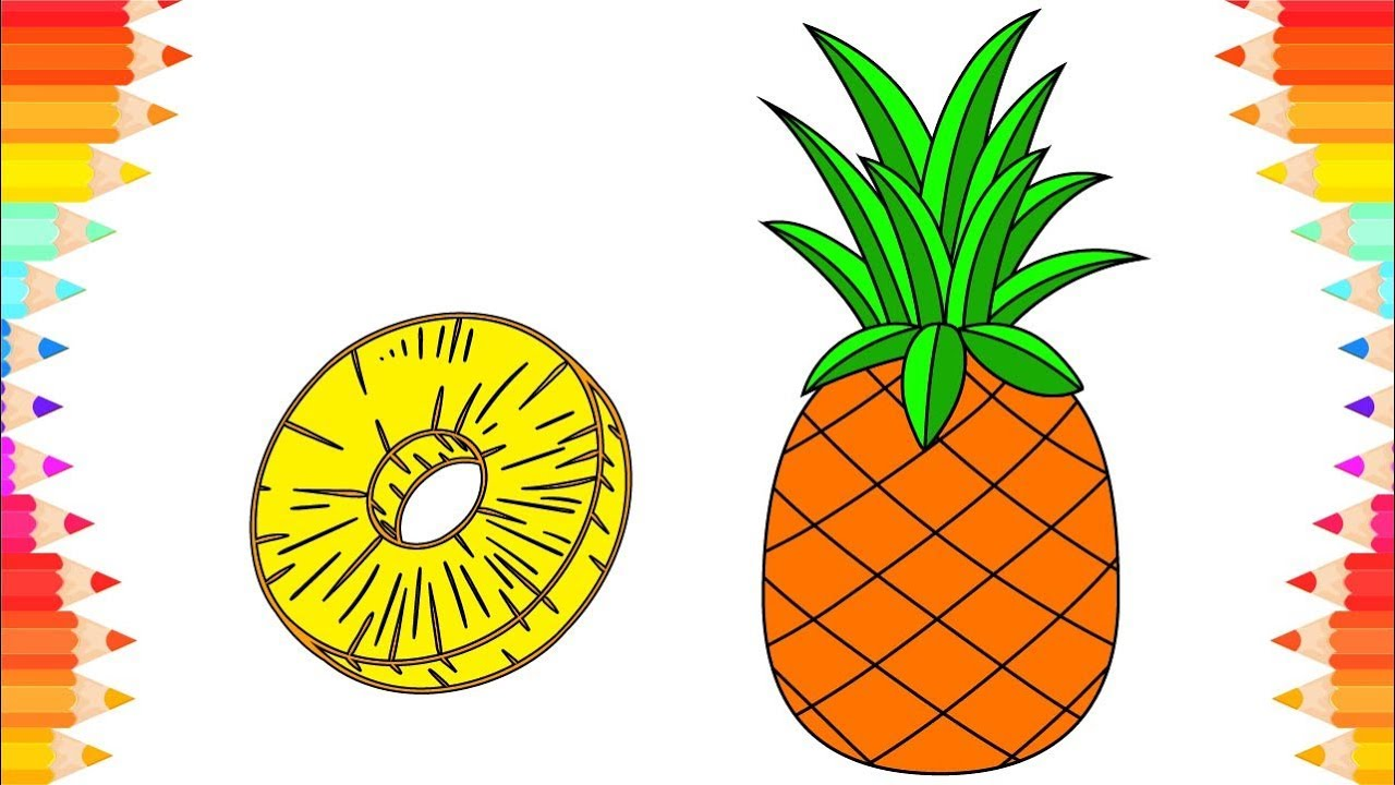 75 10 Best Pineapple Coloring Pages For Toddlers