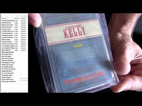 19 Gold Rush Premier Pack MLB #16