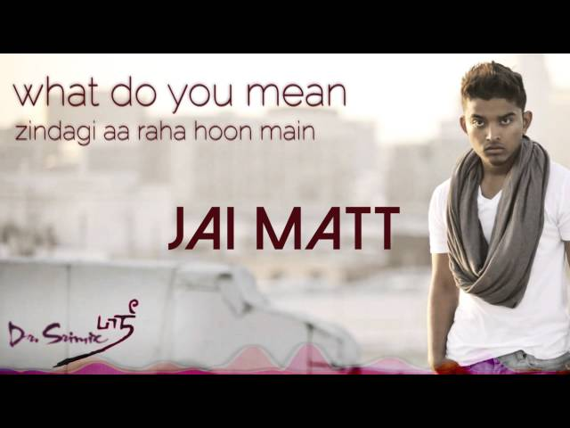 What Do You Mean (Zindagi Remix) - Jai Matt & Dr. Srimix | Justin Bieber