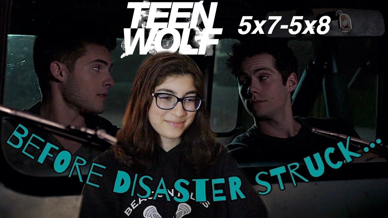 theo & stiles bonding time ft. roscoe the jeep   Teen Wolf 5x7-5x8 Reaction & Commentary
