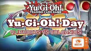 Qliphort VS Volcanic - Yu-Gi-Oh! Day Jan 2015 - MST.TV