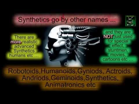 #98. Organic Robotoids / Synthetic Humans / Clones