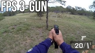 FIRST PERSON SHOOTING! Fallen Brethren 3-Gun 2013: Stage 6 - Jerry Miculek POV FPS