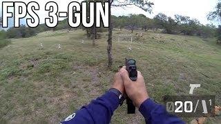 FIRST PERSON SHOOTING! Fallen Brethren 3-Gun 2013: Stage 6 - Jerry Miculek POV FPS