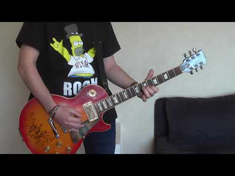 SMKC – The One You Loved Is Gone (guitar cover) with Gibson Les Paul signed by Slash