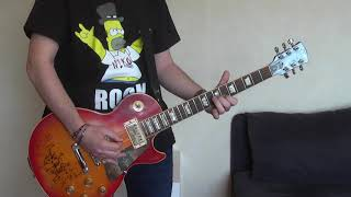SMKC - The One You Loved Is Gone (guitar cover) with Gibson Les Paul signed by Slash