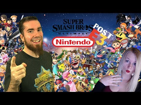 Nintendo Post E3 Event mit Super Smash Bros. Ultimate & Mario Tennis Aces | Wolv vs. Deela thumbnail