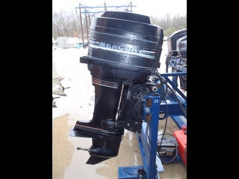 1988 mercury mariner 45hp oil injected used boat motor doovi for Yamaha outboard compression test results