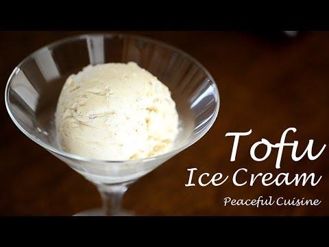 Tofu ice cream (vegan) ☆ 豆腐のアイスクリーム