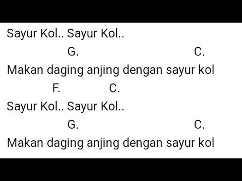 Lirik Lagu dan Chord Gitar Lagu Sayur Kol Punxgoaran, Makan Daging Anjing dengan Sayur Kol