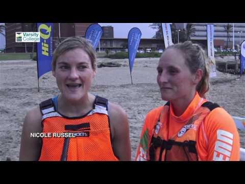 Varsity College FNB Surfski Series 2016 ep2
